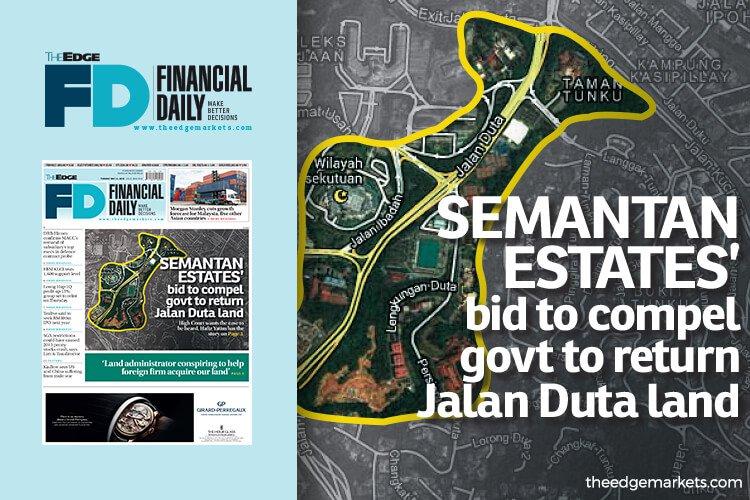 Semantan Estates要求强制政府归还大使路地段